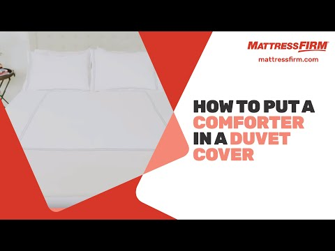 How To Reinsert a Comforter into a Duvet Cover