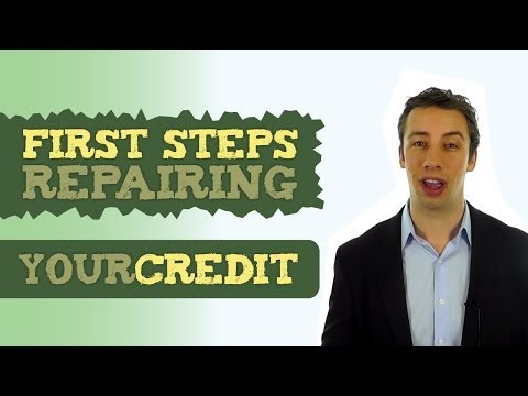 First Steps to Take When Repairing Your Credit | Family Credit Repair