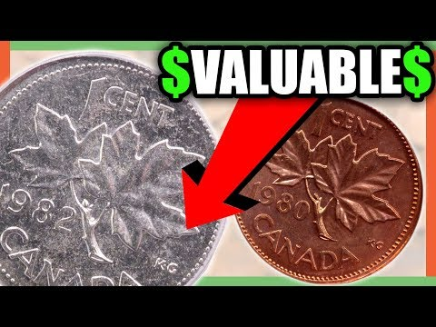 VALUABLE CANADIAN PENNIES TO LOOK FOR IN YOUR POCKET CHANGE!!