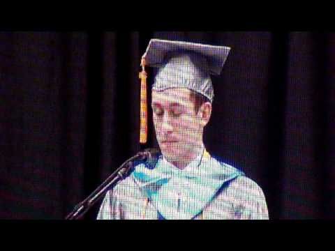 Griffin M. Furlong Valedictorian speech.