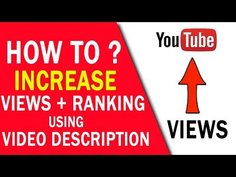 How To Increase Views & Ranking Using Description In YouTube (HINDI/URDU)