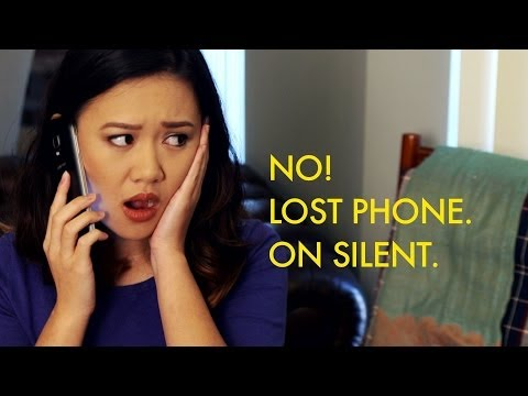 Oh No! Lost Phone. On Silent