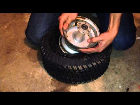 How to change a mini bike tire