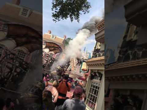 Disney World Maleficent Dragon Fire