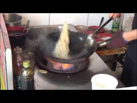 Chinese Street Food —— 炒饭 chao fan