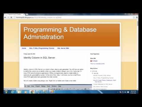 Identity column in SQL Server - Part 3