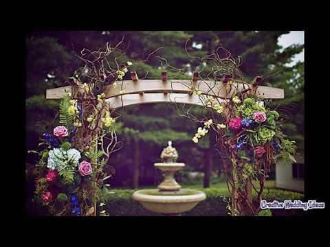 Building a Wedding Arbor