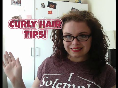 5(ish) Tips For Managing Curly Hair!