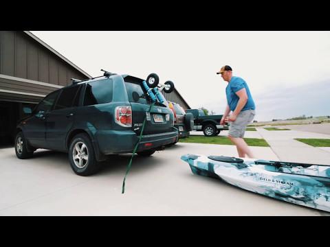 DIY Kayak Cart for Field & Stream Shadow Caster
