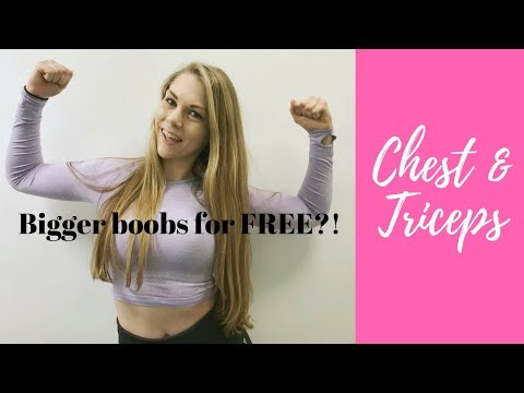 Bigger Boobs For Free?! | Chest & Triceps Workout