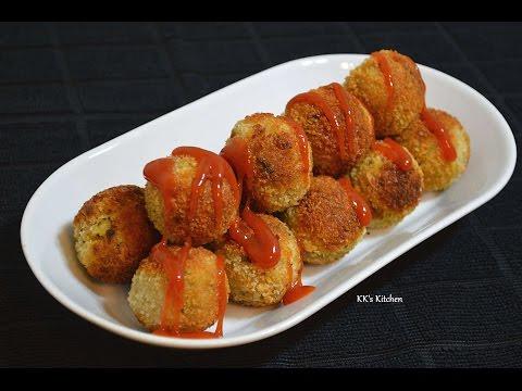 Crispy Poha Paneer Balls   Poha Snack Recipe   Easy & Tasty Tea Time  Snack Recipe