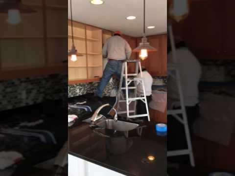 Reston Condo Kitchen Remodel: Ventilation Hood and Sink Plumbing Installation