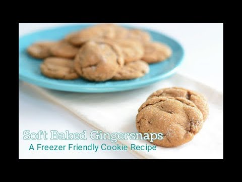 How to Make Soft Baked Gingersnap Cookies