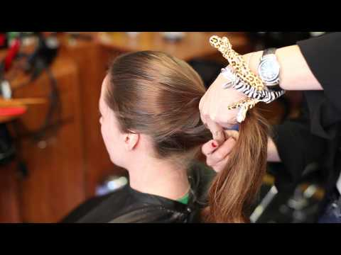 How to Put Your Hair in a Ponytail Without It Leaving a Line : Beauty & Makeup Advice