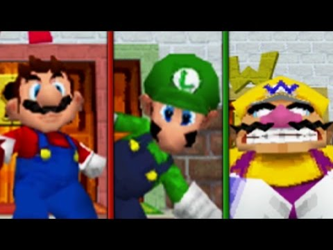Super Mario 64 DS - Unlocking All Characters