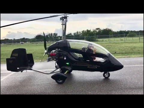 AR-1 Enclosed gyro by SilverLight Aviation test flight by Greg Spicola