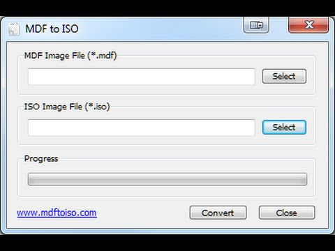 How to Convert MDF Image File to ISO Image File - Easy Way 2015