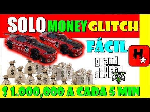 GTA V GLITCH DINHEIRO SOLO | EASIEST Solo GTA 5 Money Glitch DUPLIQUE SEU DINHEIRO 1.000,000 5/min