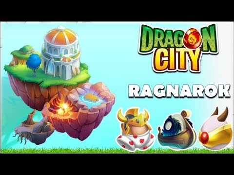Ragnarok Island All Dragons COMPLETE Gameplay | Dragon City