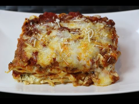 World's BEST Lasagna Recipe - How to Make the Best Lasagna