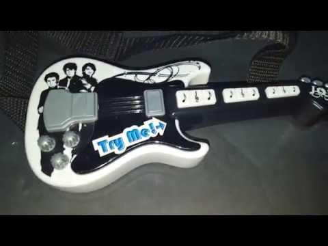 For Sale on EBay Build A Bear Jonas Brothers Singing Guitar