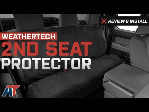 2009 2017 F150 Weathertech 2nd Seat Protector Review Install