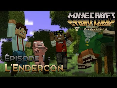 Minecraft Story Mode Saison 1 | Ep 1 : L'ENDERCON [NO COMMENTARY]