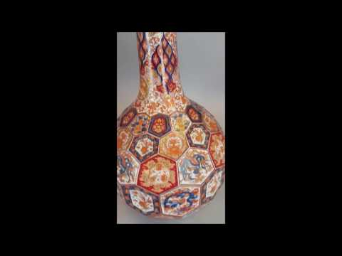 Bobs Best 3: Japanese antique porcelain imari vase