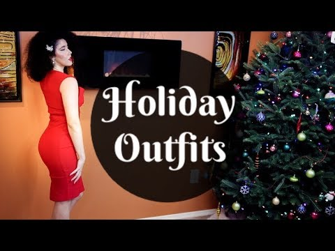 Holiday Outfits 2017   How to Dress for Christmas   Festive Fashion   #outfits