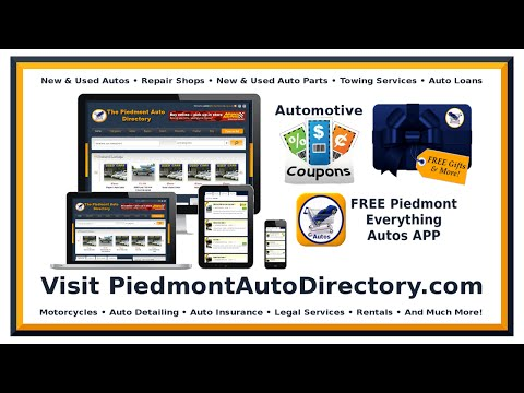 Piedmont Auto Directory - Gifts - Used Cars VA - Used Cars NC - Car Dealerships VA - Dealerships NC