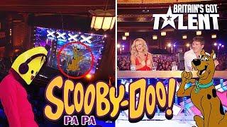SCOOBY DOO PAPA  Audición Britain