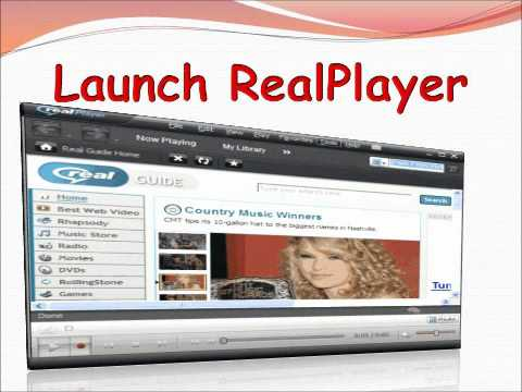 How To Save Music With RealPlayer