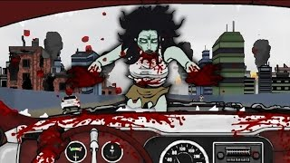 ZOMBIES EVERYWHERE!! | Road of the Dead - Flash Animation Game