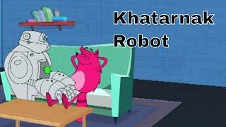 Pyaar Mohabbat Happy Lucky - Ep.54 | Khatarnak Robot | Hindi Animated Cartoon Show | ZeeQ