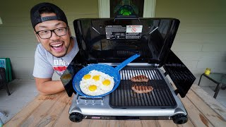 Cooking Breakfast With My New Camping Stove! (Camping Meal)