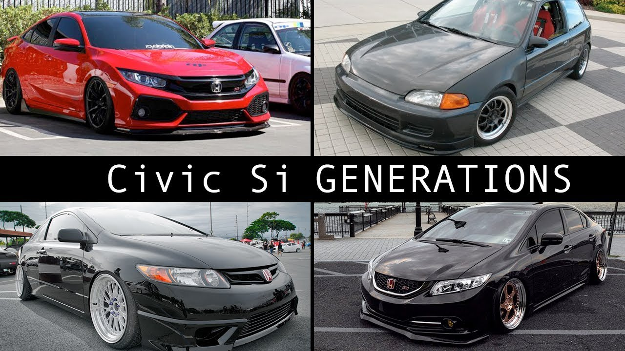 What is the BEST Honda Civic Si Generation