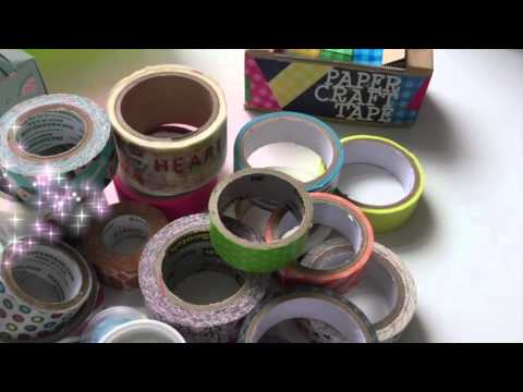 11 Things to do with Washi Tape + Washi Tape Collection!