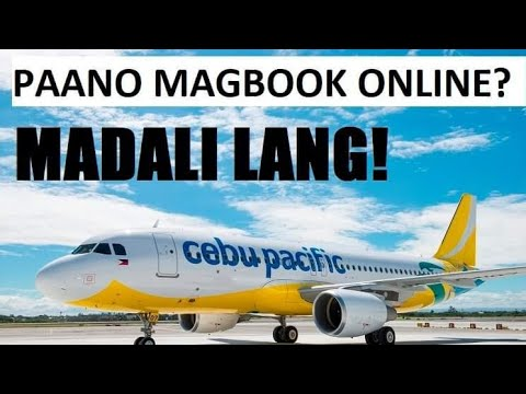 How to Book in Cebu Pacific Promo and Piso Fare ticket Online