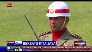 Upacara Hari Ulang Tahun ke-73 Republik Indonesia