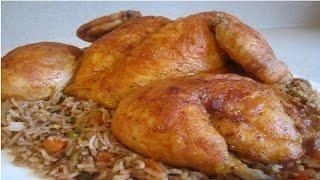 #x202b;دجاج مشوي بالفرن بطريقة مختلفة سهلة والمذاق رااااائع لا يفوتكم#x202c;lrm;