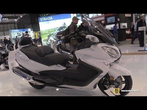 2018 Suzuki Burgman 650 Executive - Walkaround - 2017 EICMA