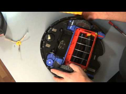 3 iRobot Roomba 500 and 600 Series Circle Dance 9 Beep Bumper Error Full Disassembling Part 3