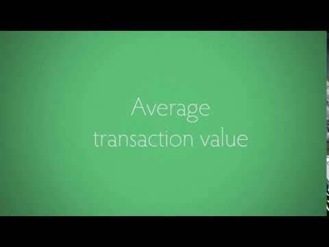 Average transaction value