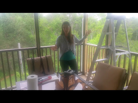 DIY Screen Porch: Simple Step by Step Instructions Video 1