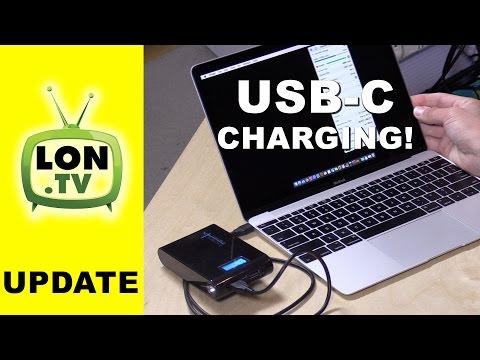 Charging a Macbook with an external battery via USB-C