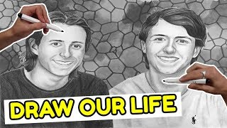 Draw My Life | 150.000 SUBS SPECIAL | Kender Du Det