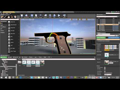 Unreal Engine 4 Game Development Time Lapse 01