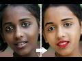 professional photo retouching / change skin color photoshop  skin retouching| Photoshop tutorials