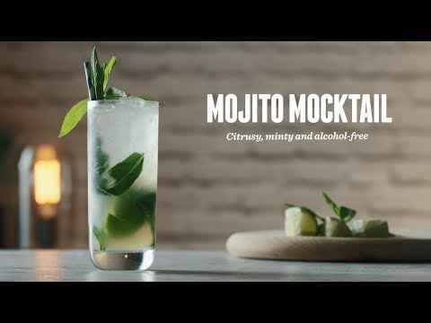 How to make a Mojito Mocktail | Non-Alcoholic Cocktail Recipes