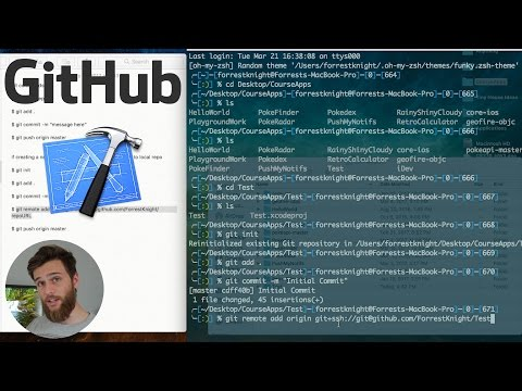 How to Push an Xcode Project to GitHub Using Terminal